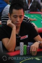 Raymond Wu busts out
