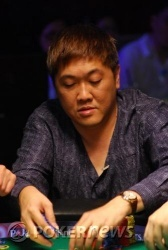Choon Lim gets his hand caught in the cookie jar