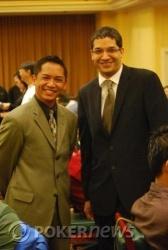 Tournament Director Lloyd Fontillas (L) and Assistant Tournament Director Jason Morris (R)