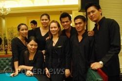 Resorts World Manila Poker Room Staff