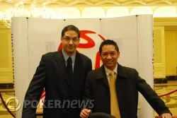 (From L to R) Asst. Tournament Director Jason Morris & Tournament Director Lloyd Fontillas