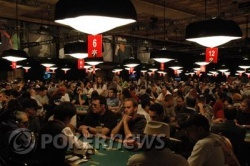 En la sala de póquer