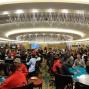 The tournament room