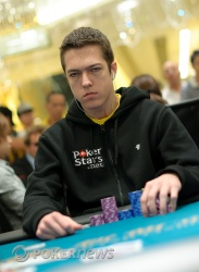 Say hello to your new chip leader, Cole Swannack
