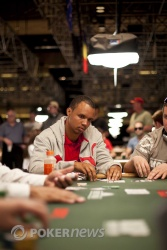 Phil Ivey on the rail