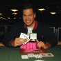 Michael Chow, winner of $1,500 Omaha Hi-Low Split-8 or Better