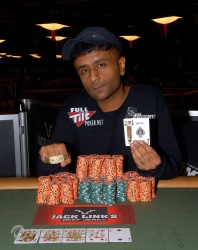 Event 5 Champion Praz Bansi