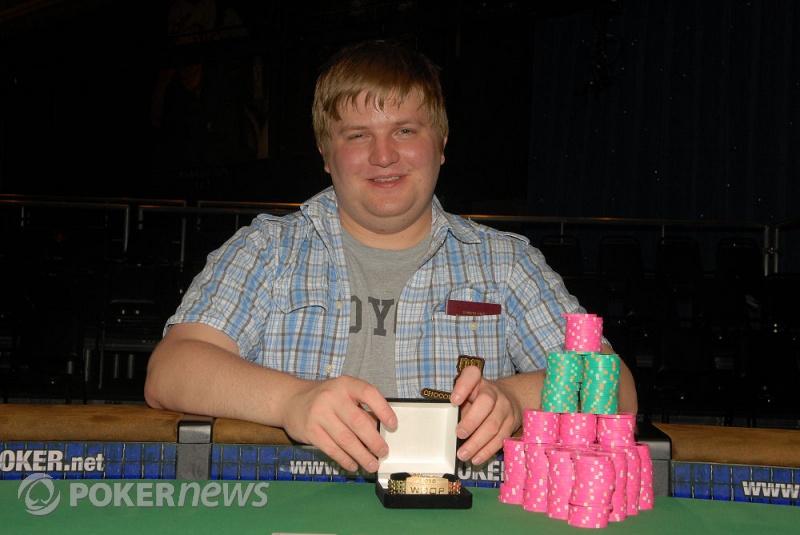 Peter Gelencser, $2,500 2-7 Triple Draw Lowball Champion