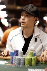 David 'Chino' Rheem, likely overnight chip leader