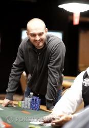 Nick Binger, Final Table Chip Leader