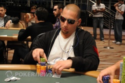 Tommy Vedes, near the top of the leaderboard as Day 1 concludes