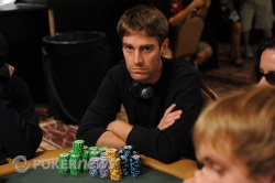 Unofficial Day 1b chip leader: David Wilkerson