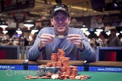 Jeff Tebben Wins Event #24: $1,000 No-Limit Hold'em