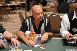 Mike Minetti is the chipleader at the end of Day 2.