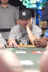J.C. Tran is among the 14 returning today to battle for the Event No. 39 bracelet
