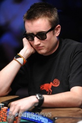 Taylor from his final table appearance earlier in the Series