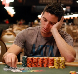 Chip Leader Michael Linn