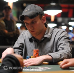Jason Somerville is amongst the leaders after day one