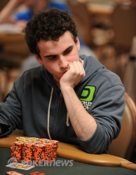 Day 3 chip leader Dan Kelly