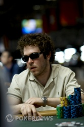 Yuval Bronshtein is among the leaders of those who played Day 1b