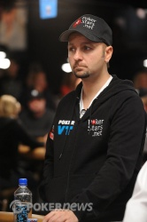 Daniel Negreanu, in earlier action
