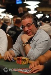 One of the chip leaders Randy Dorfman