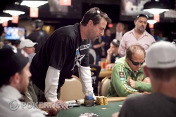 Eric Morris sees his WSOP come to an end.
