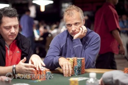 Theo Jorgensen leads the 2010 WSOP Main Event