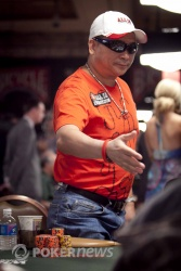 Johnny Chan eliminated