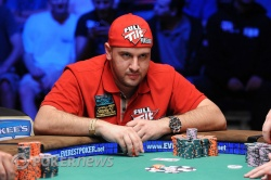 Michael Mizrachi, from Day 7 action