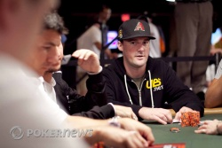 Eric Baldwin moves all in