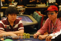 Stephen, left, and Benjie Lim