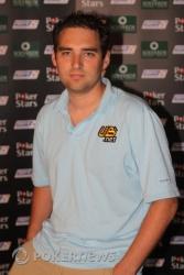 Brandon Cantu líder del torneo