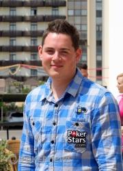Toby Lewis - chip leader