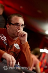 Mike Matusow - still here as everyone packs up around us