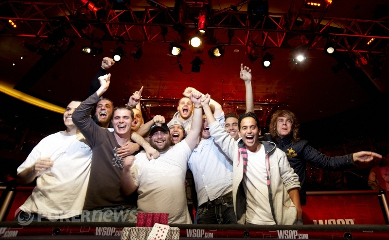 James Bord winner of the WSOPE Main Event 2010