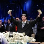 Jonathan Duhamel shows us the money