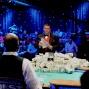 WSOP Tournament Director, Jack Effel, opens the show