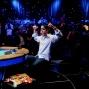 John Racener flexes his poker muscles