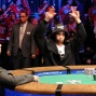 Jonathan Duhamel reacts to winning all-in