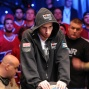 Jonathan Duhamel takes an overwhelming chip into heads-up on Monday