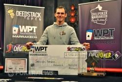 Sebastian Homann, Winner of WPT Marrakech