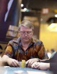 Barry Drysdale eliminated in 3rd place