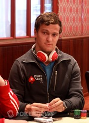 Ruben Visser - Our Chip Leader