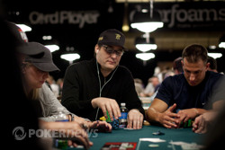 Phil Hellmuth (from Event #3): in and out faster than those burgers ...