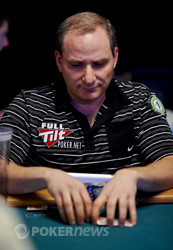 Andy Bloch is among the chip leaders