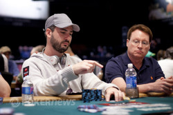 Nacho Barbero (from Day 1): still has plenty of chips