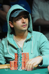 Chip Leader Allen Bari (from yesterday)