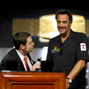 WSOP Tournament Director Jack Effel introduces comedan Brad Garrett