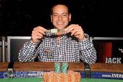 Defending Champ Eric Buchman winning his first bracelet in this event in 2010!